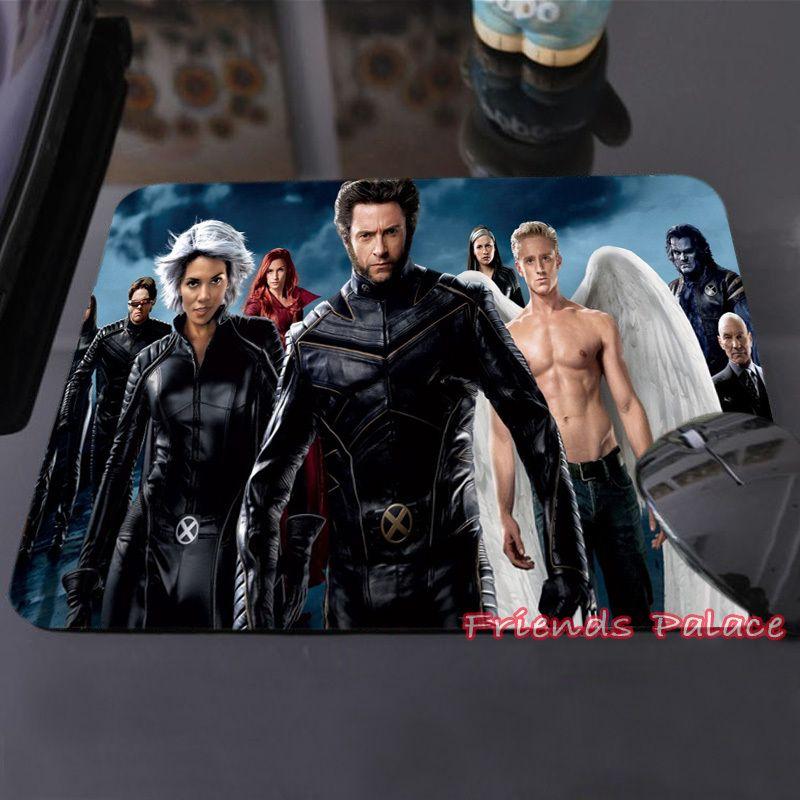 Meilleures ventes personnalisé tapis de souris Anna Paquin archange Ben Foster Charles Xavier x - man ordinateur portable tapis de souris en caoutchouc Pad(China (Mainland))