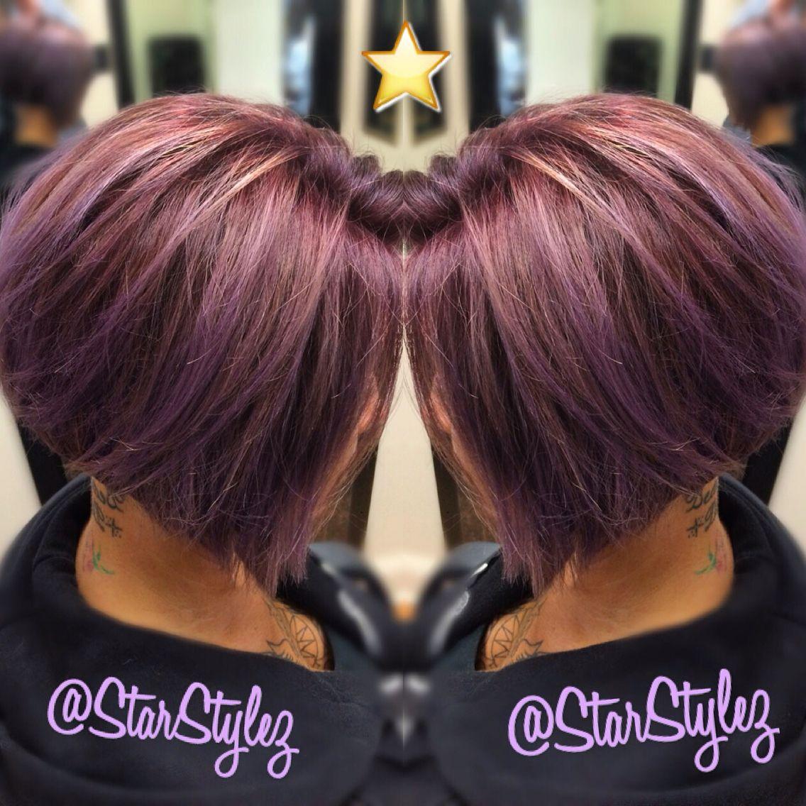 Love my Job! HairIsMyCanvas PurpleHair LavenderHair