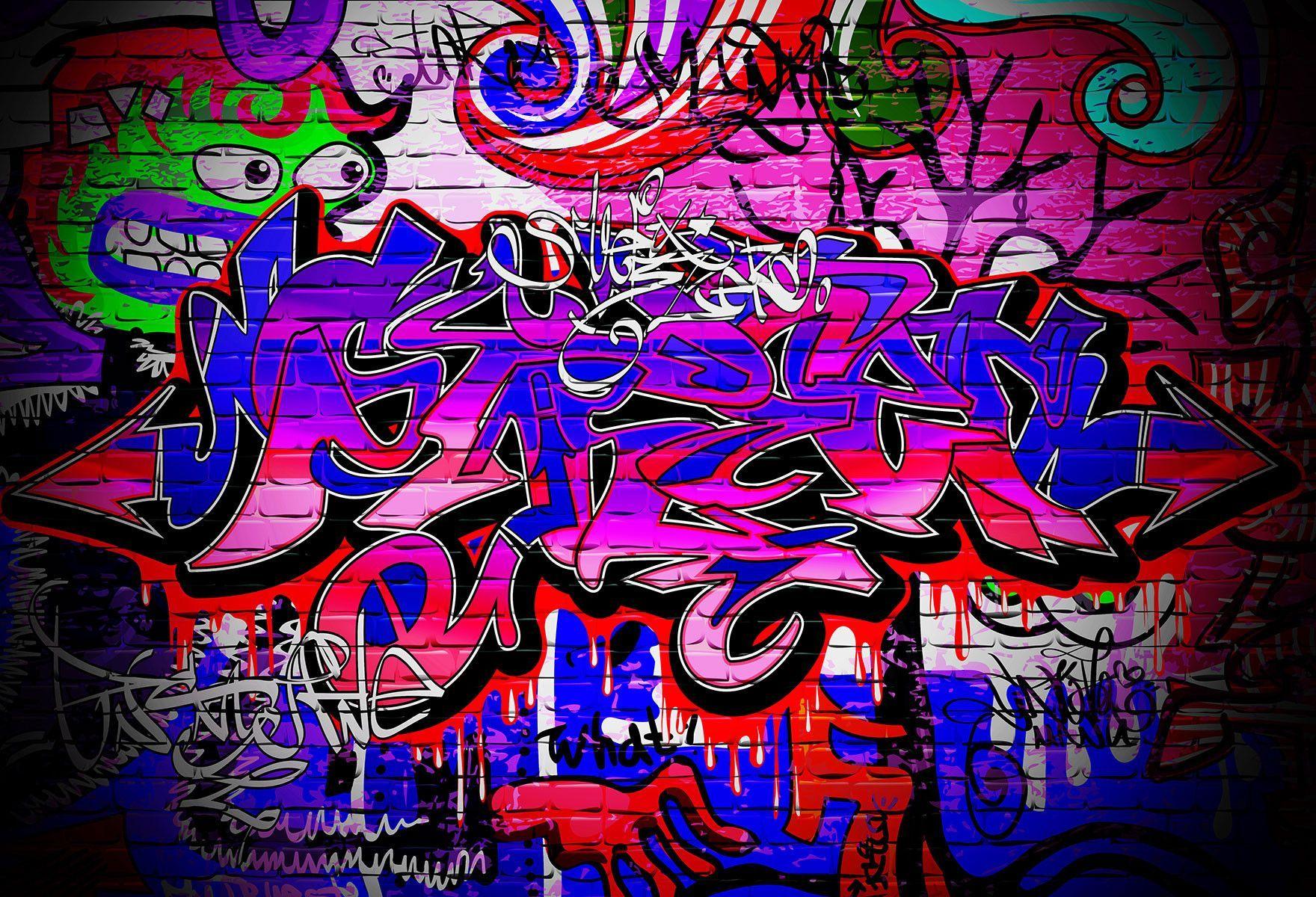 Scenic Backdrops Graffiti Backgrounds Brick Wall Backdrops
