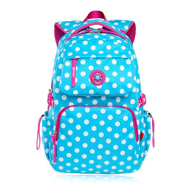 4afeba512c Children School Bags Kids Dot Printing Backpack For Teenagers Boys Girls  Mochila Schoolbags Satchel Book Bag