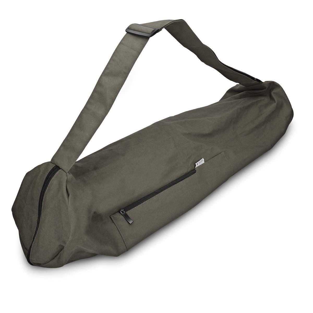 Navaris Yoga Mat Bag Closure In 2020 Yoga Tote Mat Bag Extra Large Tote Bags