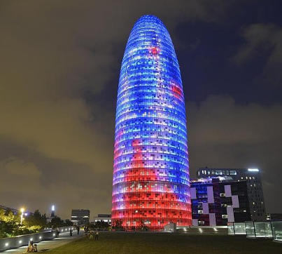 Torre Agbar by Jean Nouvel