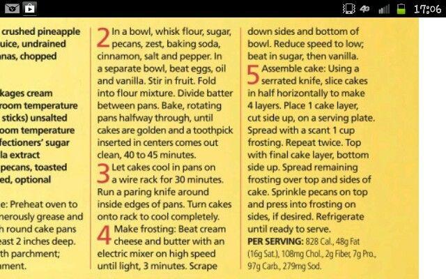 Humming bird cake (part 2)