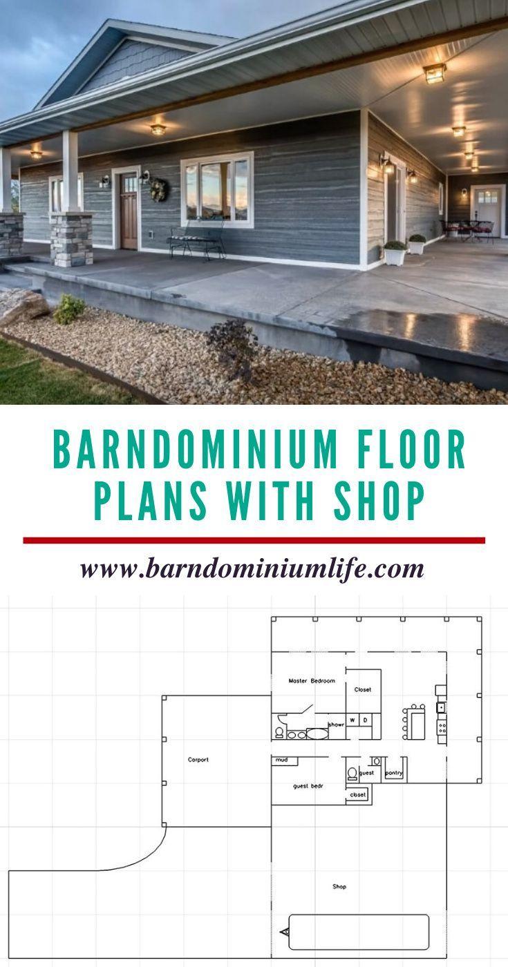 Barndominium Floor Plans With Shop