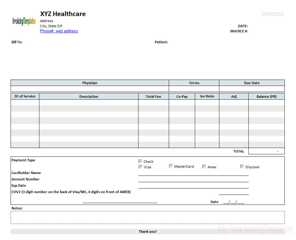 Medical invoice template 2 iphone wallpapers pinterest medical invoice template 2 maxwellsz