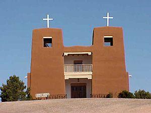 Sacred Heart Church, Nambe, NM.