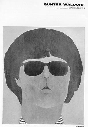 Gunter Waldorf. Bologna, Galleria de' Foscherari, 1966. Catalogo di mostra, 5-20 novembre 1966. Presentazione di Luigi Lambertini