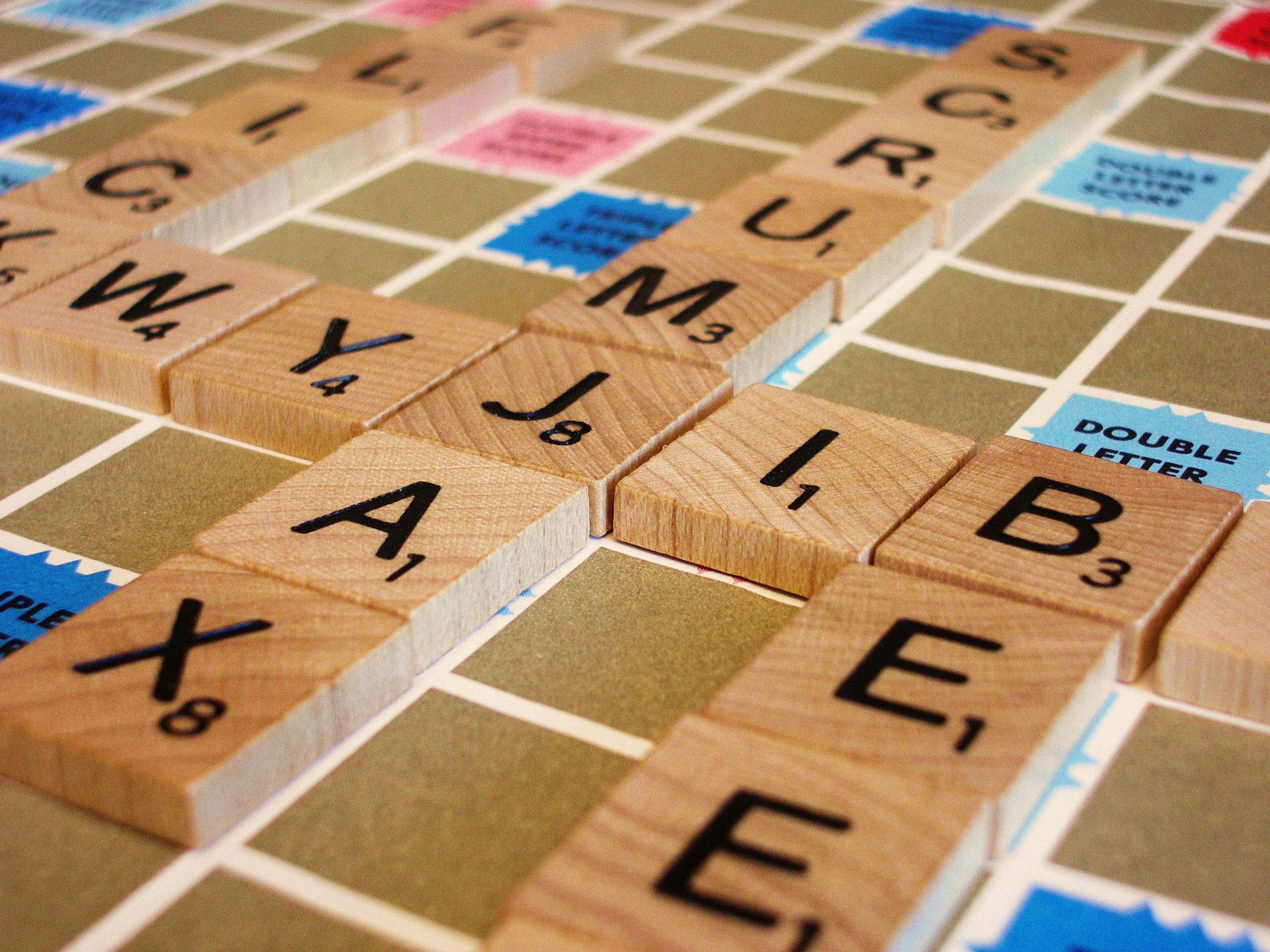 Scrabble....so many crafting possibilites with the tiles