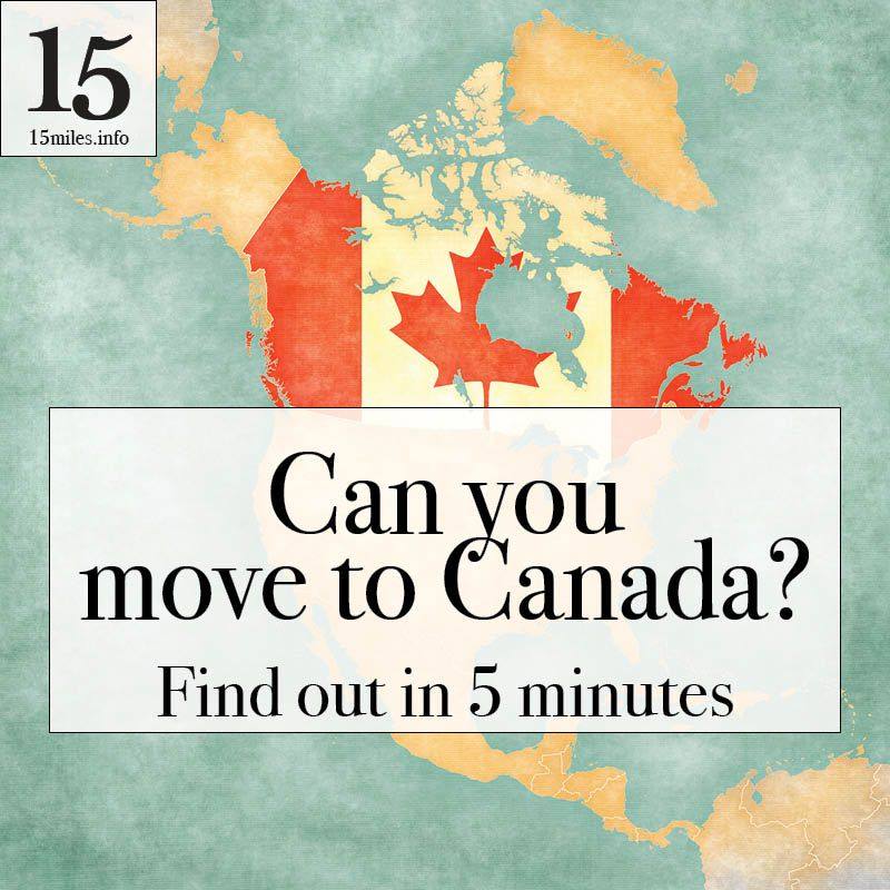 Take This Quiz To See If You Are Eligible To Move To Canada Know All Of Your Options Moving To Canada Canada Travel Canada