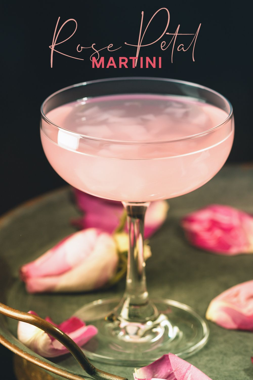 Rose Petal Gin Martini | Craft Gin Club