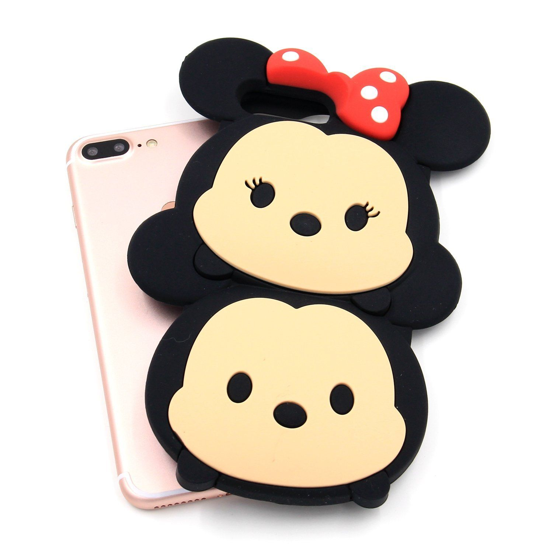 Amazon Com Iphone 7 Plus Case Mc Fashion 3d Super Cute Big Hero Baymax Silicone Case Cover For Apple Iphon Iphone 7 Plus Cases Cute Phone Cases Iphone 7 Plus
