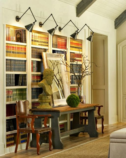 These Lights Are An Effective Way To Light Bookcases
