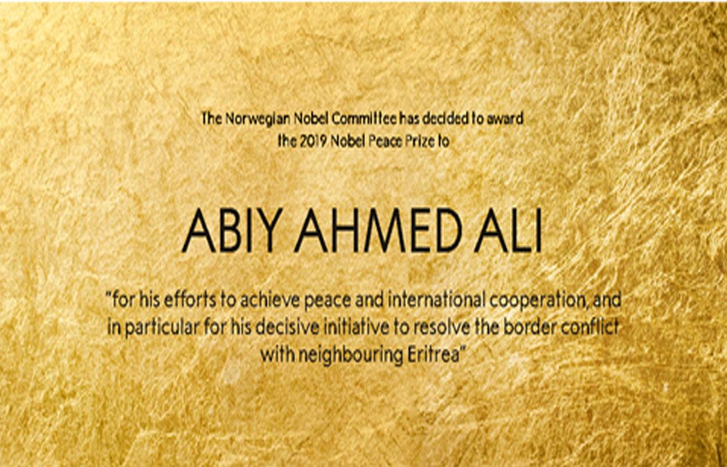The Norwegian Nobel Committee Has Decided To Award The Nobel Peace