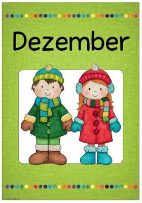Ideenreise Monatsplakat DecemberDezember  Schulalltag  Kalender monat Jahreszeiten