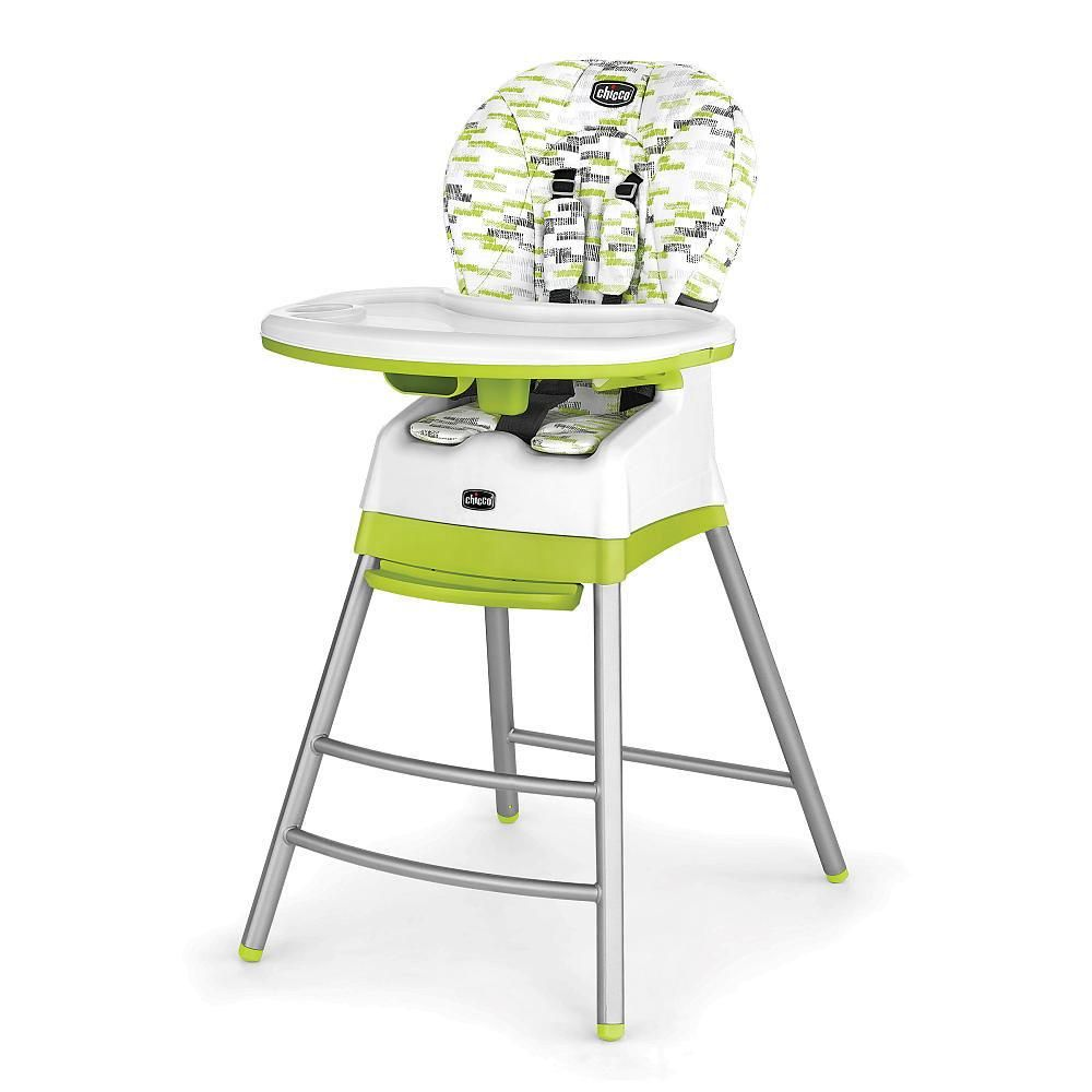 The Chicco Stack 3 In 1 High Chair Offers Three Configurations In