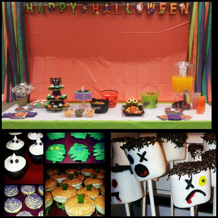 Yummy diy Halloween Party for Kids