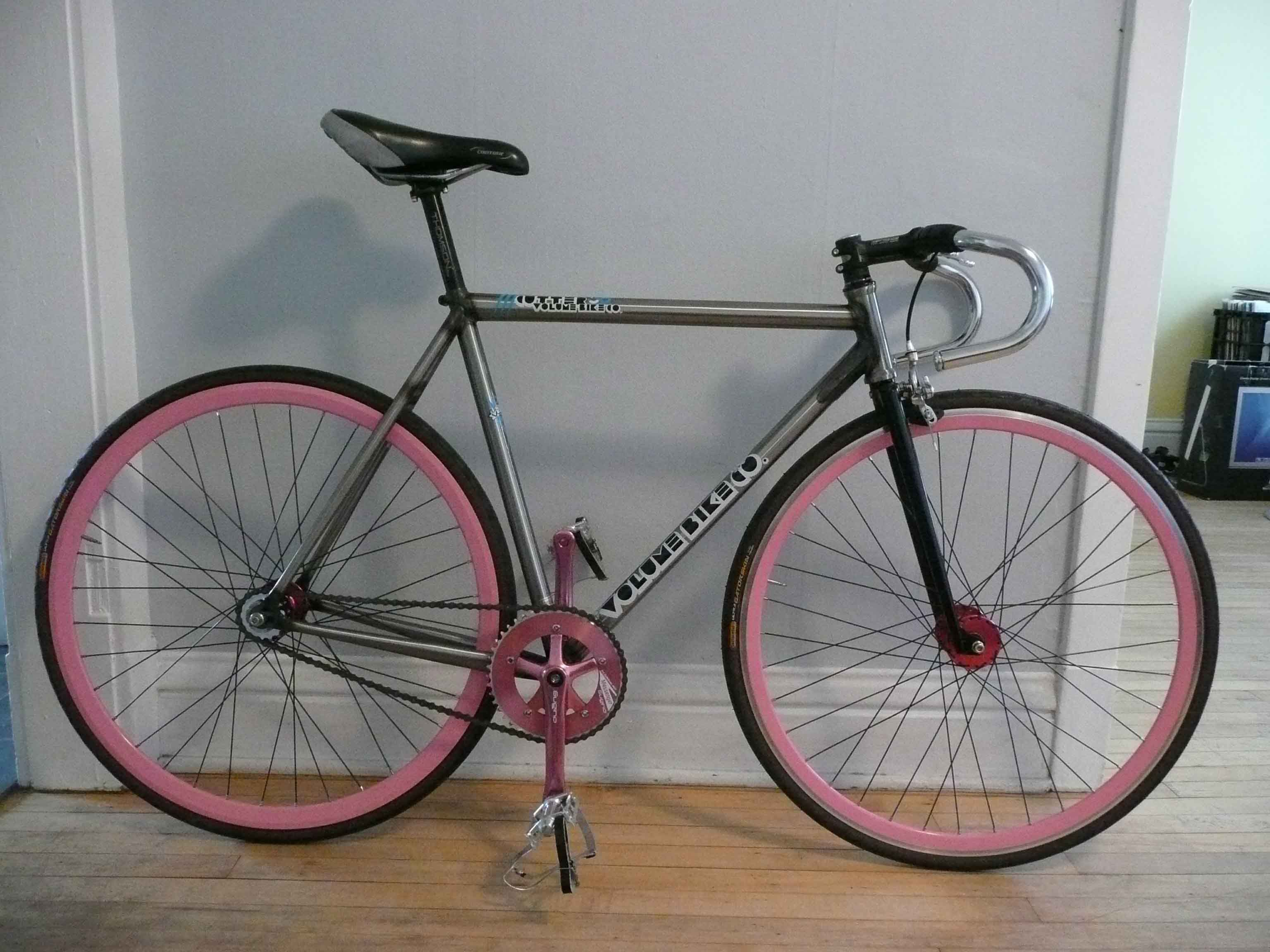 This Is A Fixie, Which Is The Oldest & Simplest
