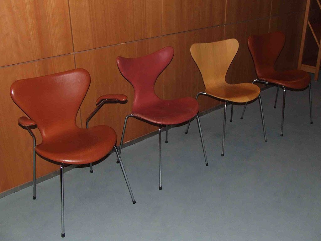 Model 3107 Chair Arne Jacobsen 1955