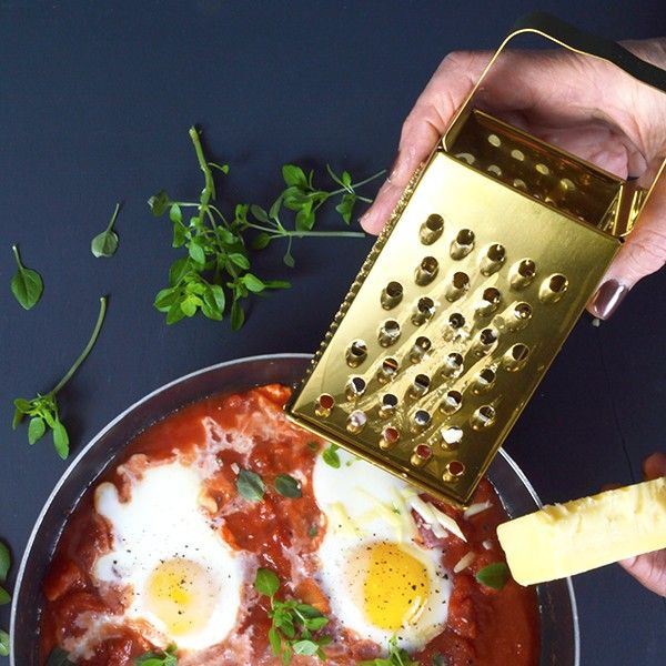 Gold Cheese Grater - available from MiaFleur