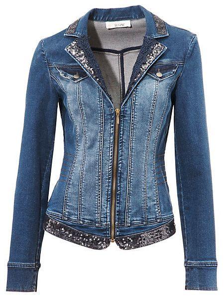 Afbeeldingsresultaat voor linea tesini jeans Denim Jacke, Denim Ideas, Denim  Outfit, Appliques, f5c5e6e325e3
