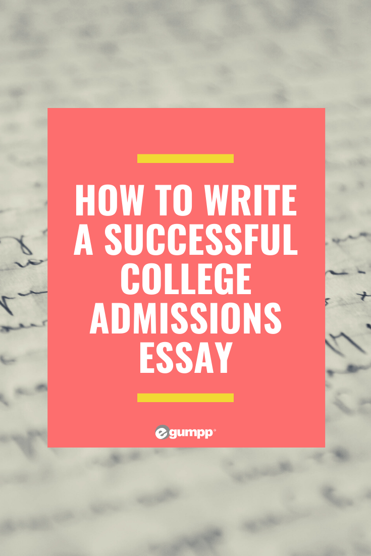 How to write high school admission essays
