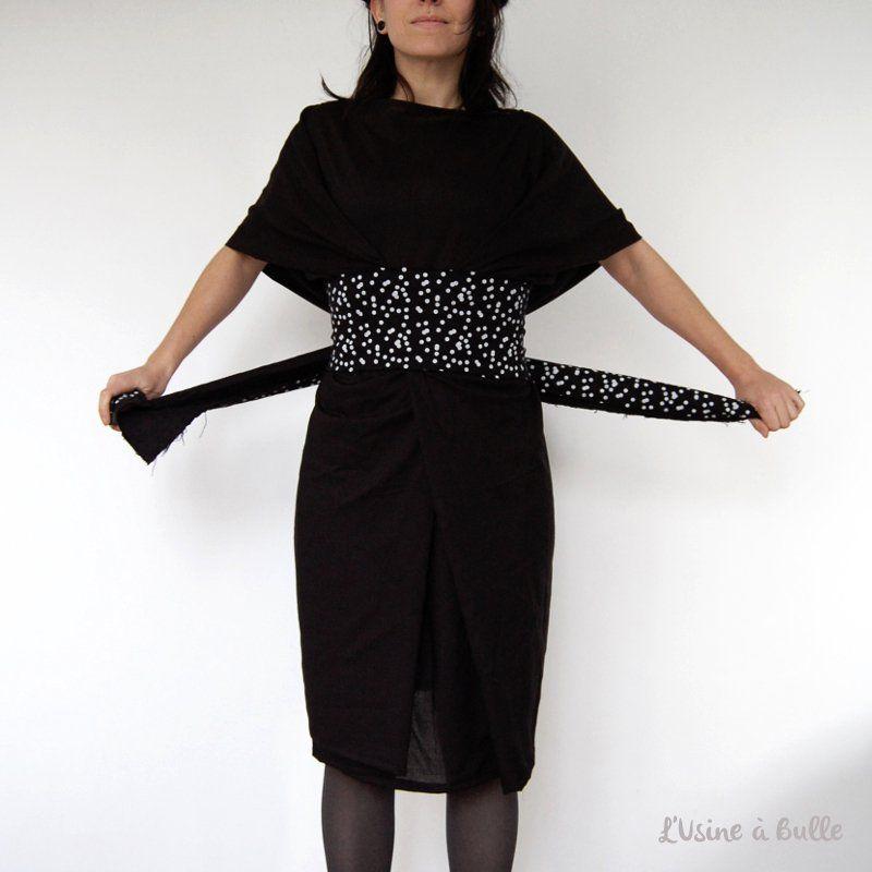 CoudreCouture Robe Petite Une Facile À Noire Diy kXwP08On
