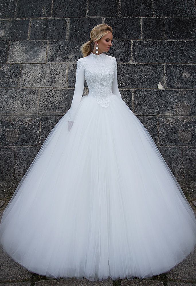 Oksana Mukha Bridal #tznius #modest | Modest (Tznius) Wedding Gowns ...