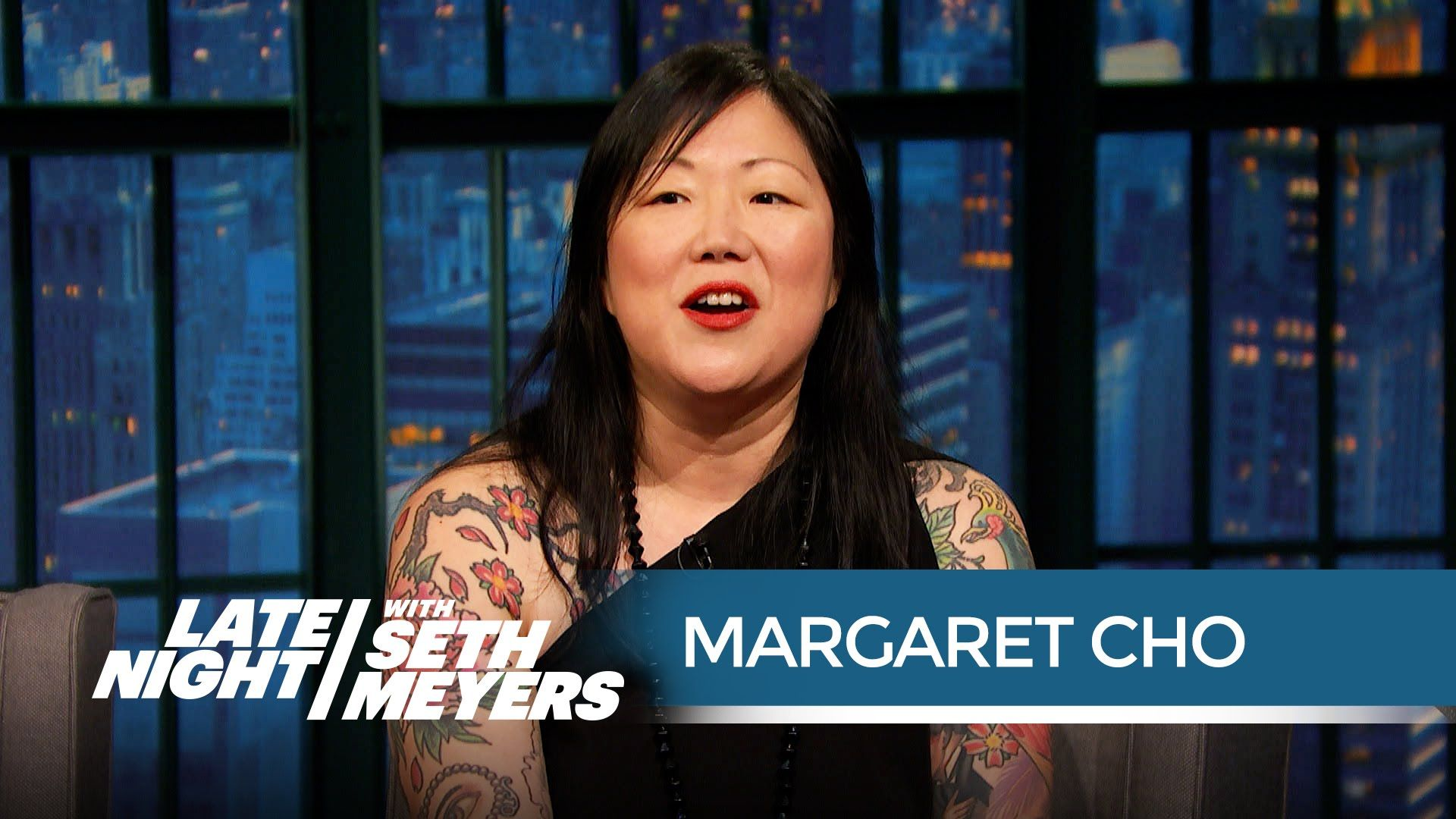 Margaret Cho on the Issue of Political Correctness in Comedy - Late Nigh...