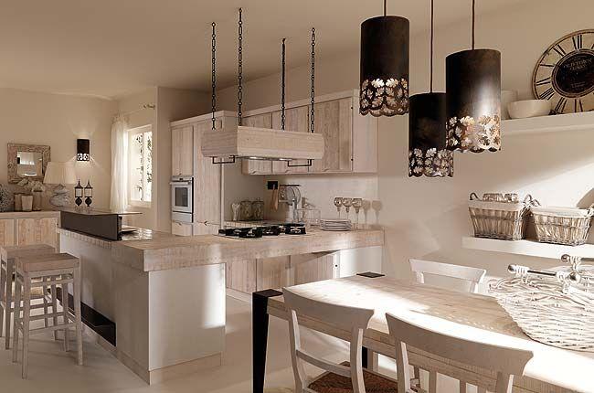 Foto di una cucina in legno zappalorto home cucina in for Case tradizionali italiane