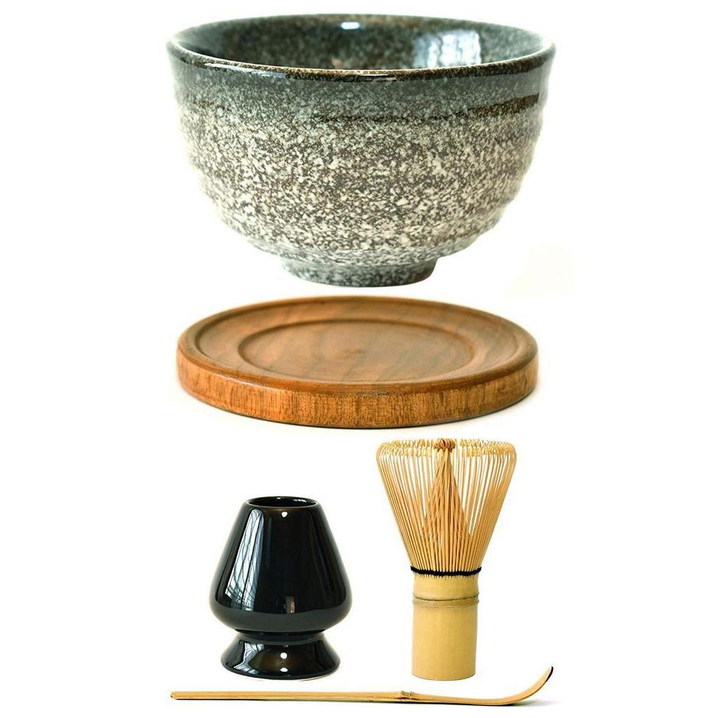 Photo of Ceramic Japanese 5-Piece Matcha Bowl Tool Kit