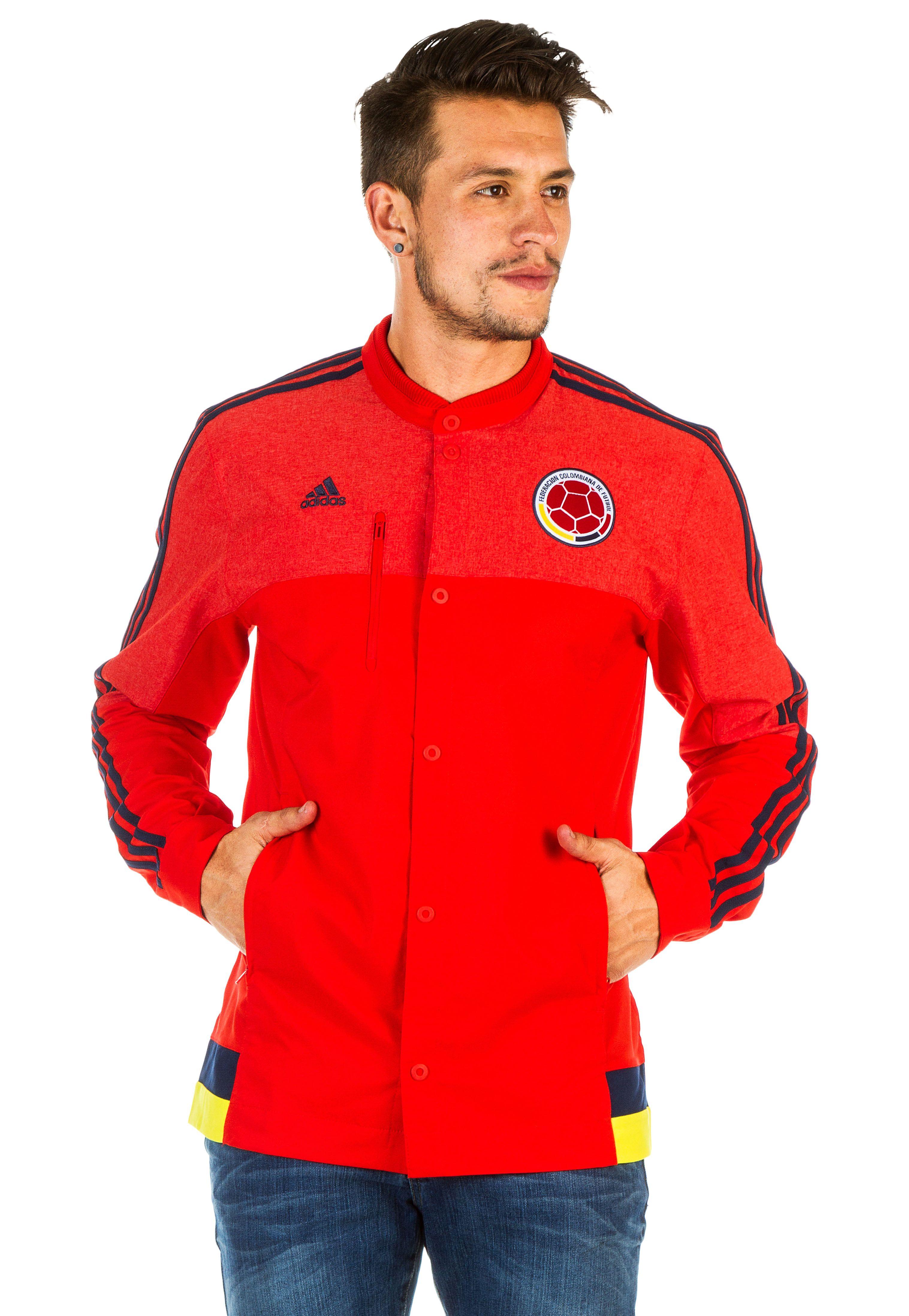 Originals 2018 Chaqueta adidas Adidas Roja Roja WZnqYdad