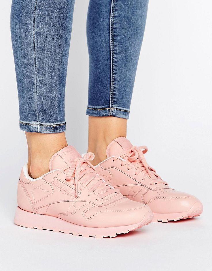 Zapatillas de deporte rosas clásicas de nailon X Spirt de Reebok h3yicCz
