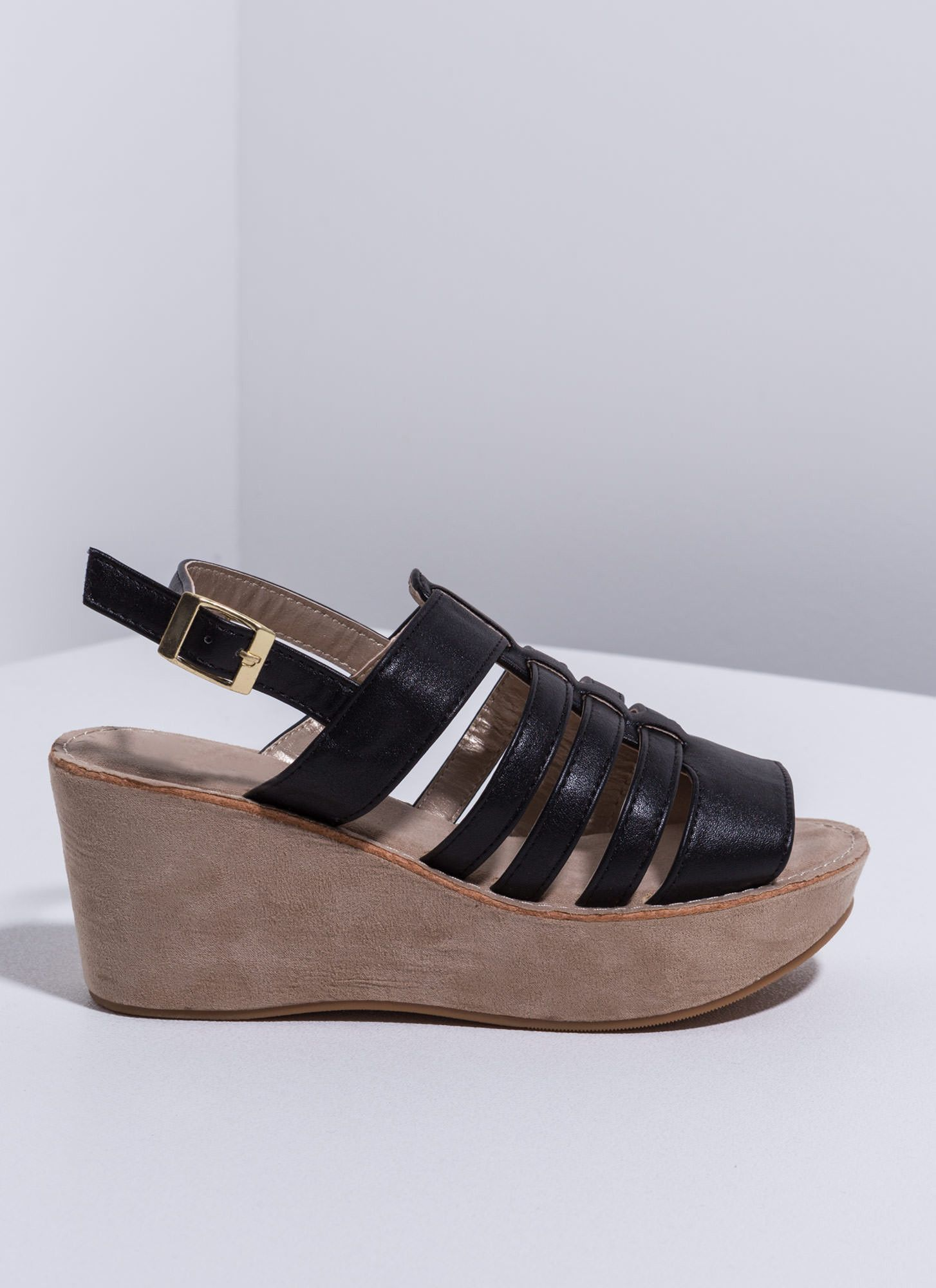 Arena Chic Gladiator Flatforms