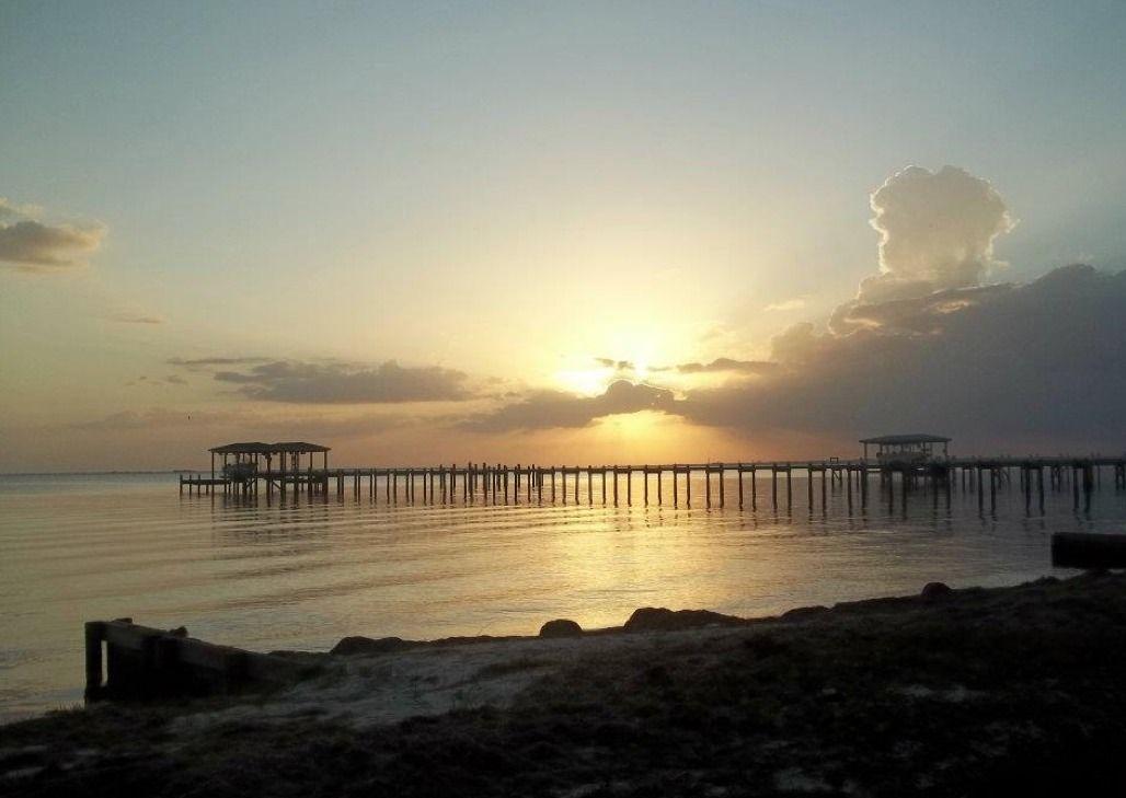 Sunset On Santa Rosa Sound Near Gulf Breeze Florida
