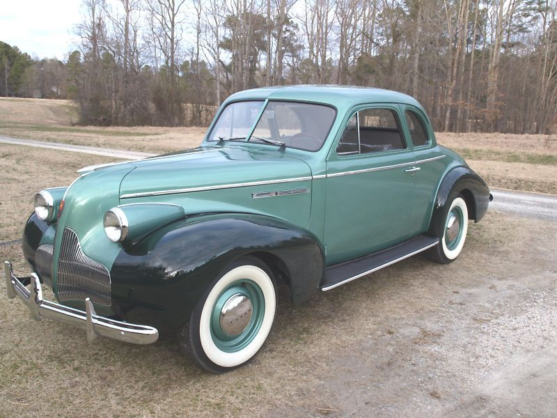1939 Buick Special Sport Coupe Classic Cars Trucks American