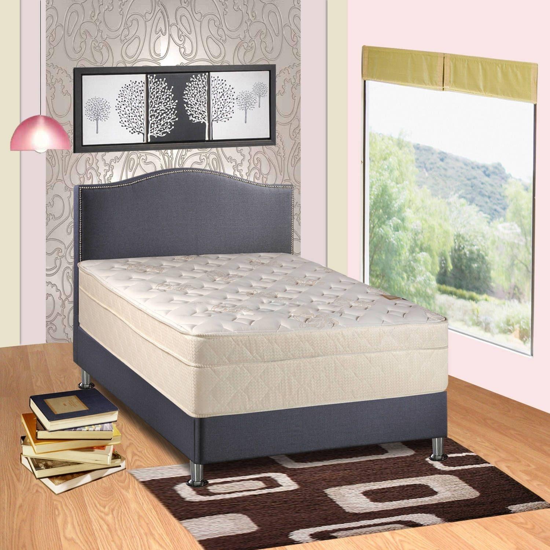 Spring Coil 13inch Firm Pillowtop Queensize Mattress
