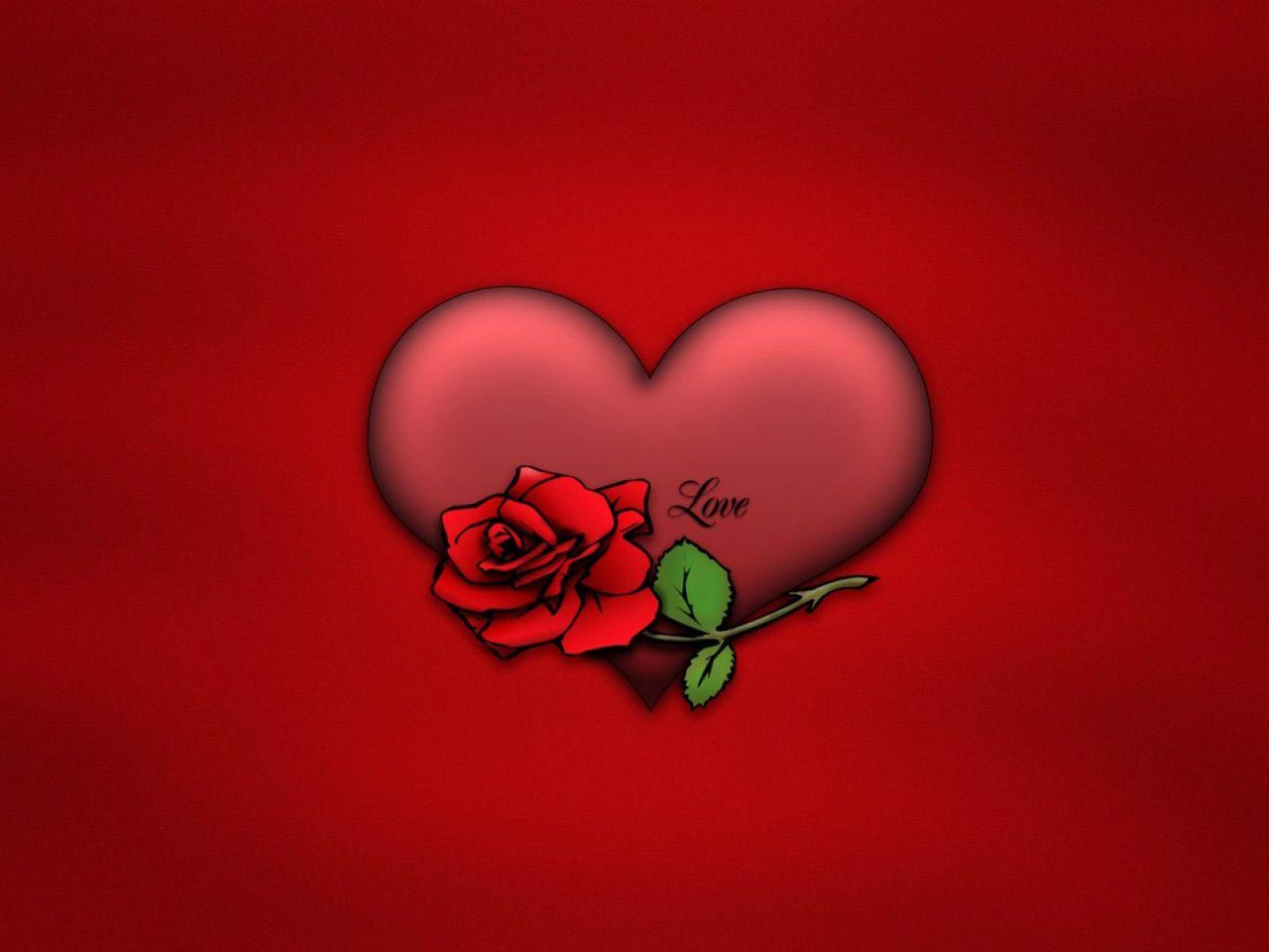 Free Valentines Wallpaper Free Valentine Love Computer Desktop