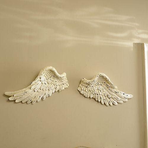Large Cream Angel Wings | Angel wings, Angel and Bedrooms