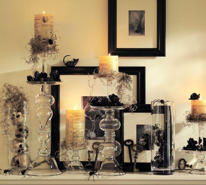 halloween favors Twitter / potterybarn The spiders have escaped - create halloween decorations