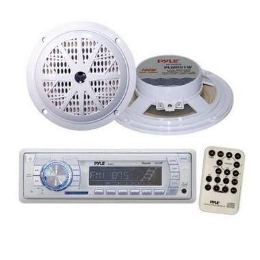 "Marine Stereo AM/FM Radio Receiver USB/SD iPod/MP3 Player + 2 x 100W 5.25"""" Speakers W290-KTMRGS43"