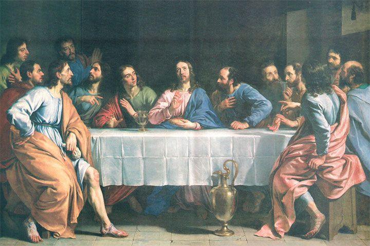 Días De Las Fiestas Y Celebraciones De La Iglesia Católica Ultima Cena De Jesus La Ultima Cena Cuadro De La última Cena