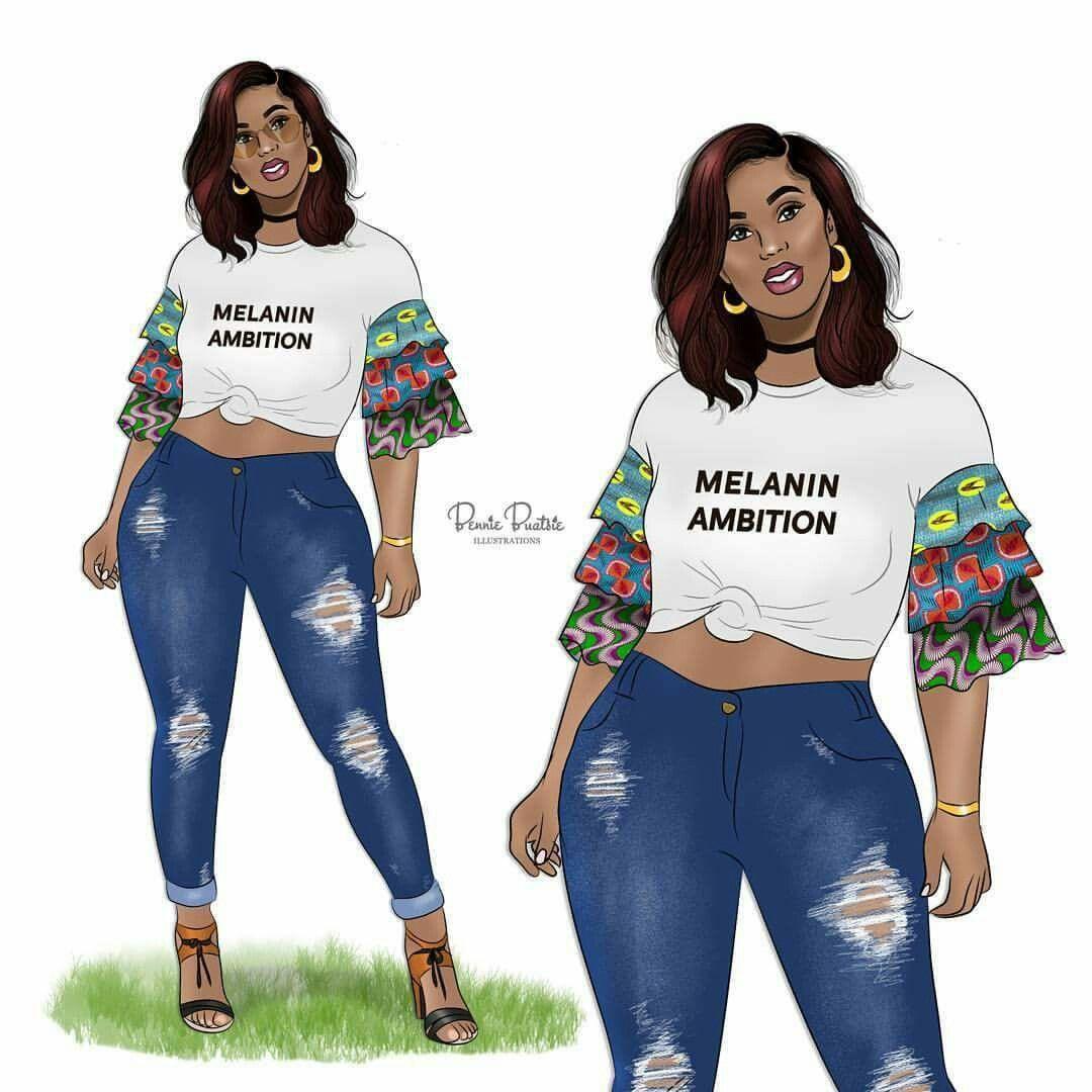 Pin By Duchess On Bb Art Black Girl Magic Art Black Girl Cartoon Black Girl Art