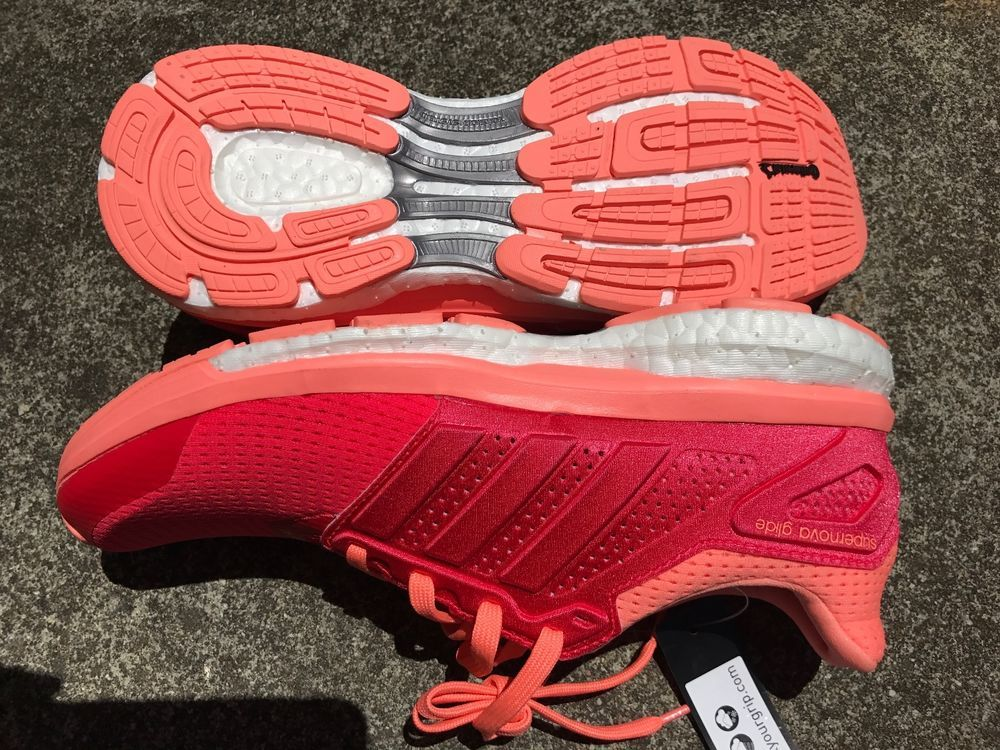 uk availability d127c 29b54 Adidas Supernova Glide 8 W BOOST - Shock Red Sunglow (AF6558) women s size   7.5  adidas  RunningCrossTraining