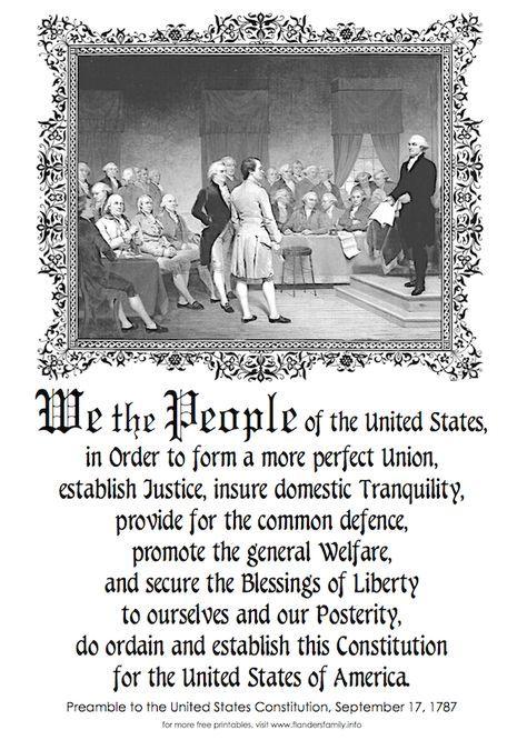 Free Patriotic Printables (Historical Documents)