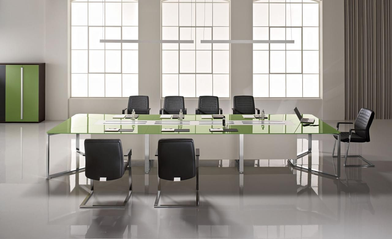 Contemporaneo mobili ~ Rectangular meeting table i meet collection by las mobili