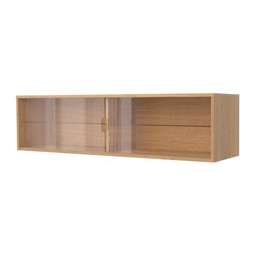 galant wall cabinet with sliding doors oak veneer ikea hedgiepogs pinterest. Black Bedroom Furniture Sets. Home Design Ideas