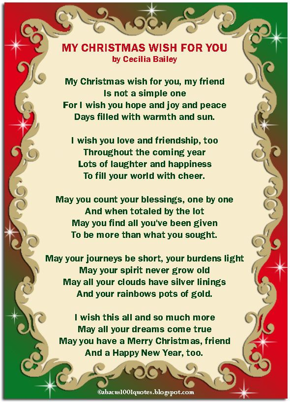 My Christmas Wish For You.... winter christmas merry