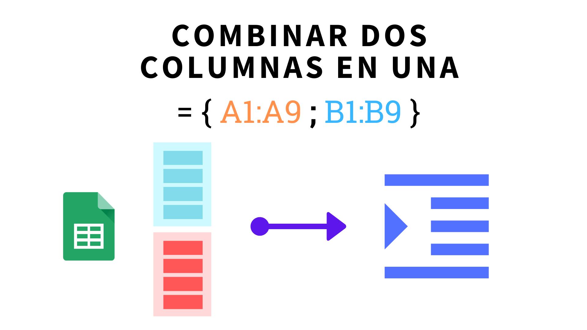 Cómo Convertir Dos Columnas En Una Sola En Google Sheets Columnas Sistema De Juego Google