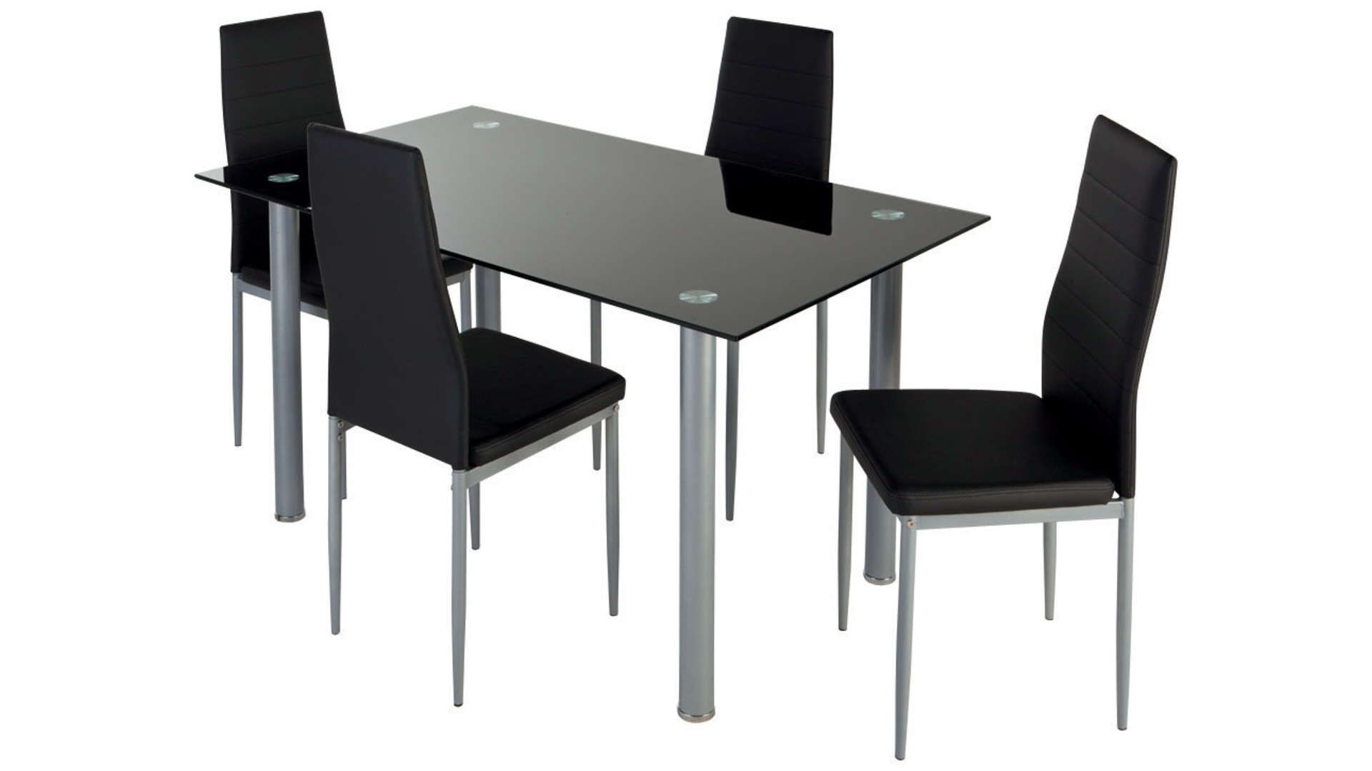 Ensemble Table 4 Chaises 563469 Table Et Chaises Chaise