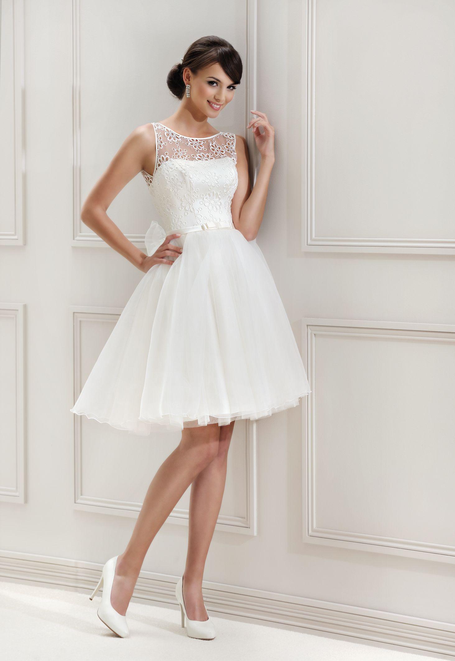 wedding dress ANIKA ... see more http://www.porocnikoticek.si/obleke ...